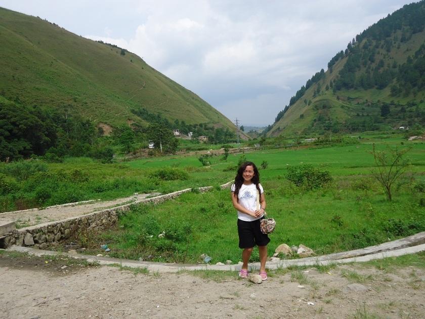 Dua Bukit di Desa Aek Sipitu Dai