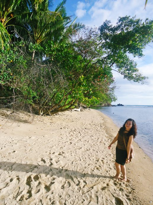 Indahnya pantai Carocok