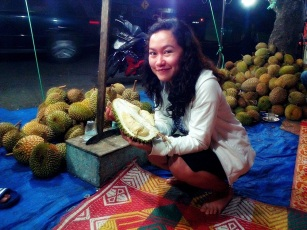 Durian at Bay Pass, Padang, West Sumatera