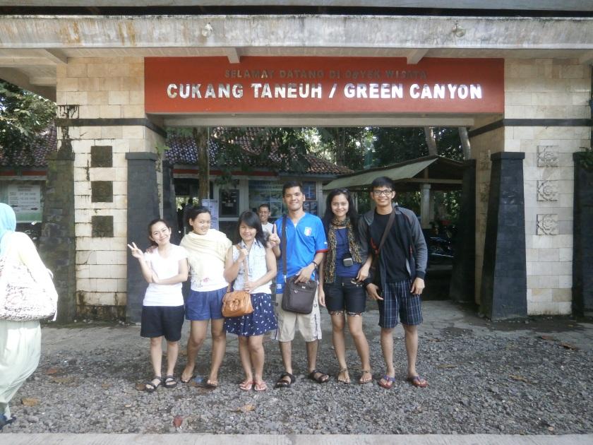 Green Canyon atau yang sering disebut Cukang Taneuh