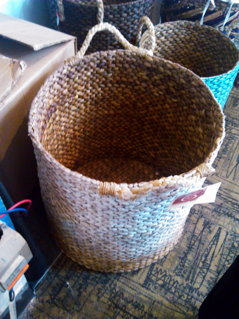 Storage Basket from Natural Fiber