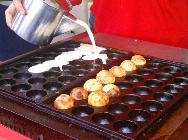 Proses Pembuatan Takoyaki