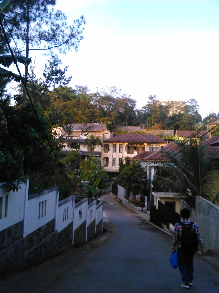 Jalan menuju Hotel, Jalan Tubagus VIII