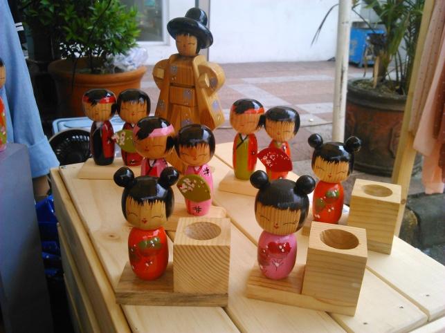 Boneka Kayu Jepang